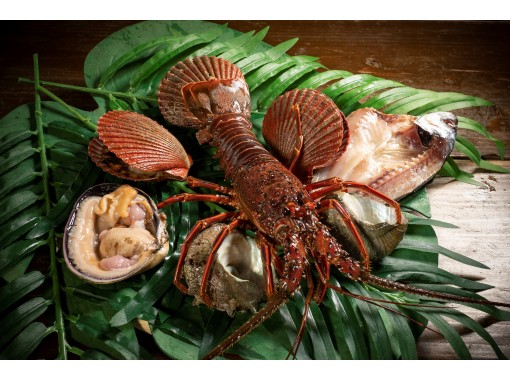 [Mie / Toba] Celebrity mood course Enjoy fresh seafood at the ama hut and have a good time with the ama!の紹介画像
