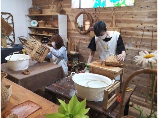 【大阪市内】はじめてでも簡単!コースターや鍋敷きにもなるラタンミニプレートの紹介画像