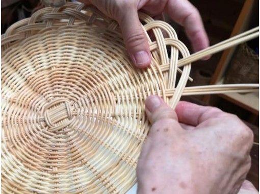 【大阪市内】籐編みがはじめてでも簡単!パン皿としても活躍するラタンプレートの紹介画像
