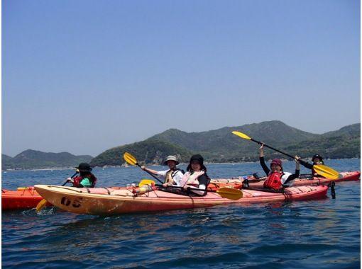 【香川】魅力あふれる無人島へ!ハーフデイ・カヤック・トリップ【半日】の紹介画像