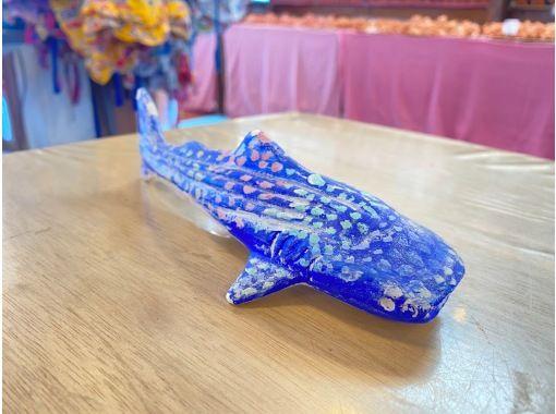 【沖縄・本部・美ら海エリア】人気のジンベエザメに色塗り体験!美ら海水族館へ行った思い出にの紹介画像