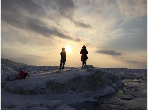 【オンラインツアー・北海道・知床】オンライン流氷オンザロックツアー ホンモノ!!流氷付き