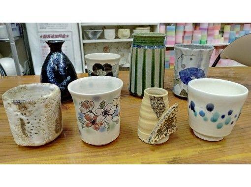 【愛知・名古屋駅5分】手ろくろ陶芸体験で作品を1点作ろう!+絵付け、色塗りもできます!の紹介画像