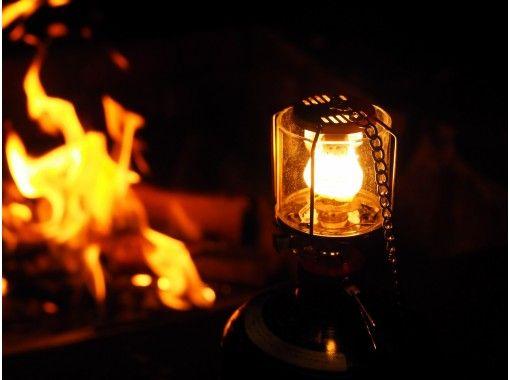 【長野・安曇野/大町】プチグランピング体験付きスノーシューツアー ほっこり焚火とライトアップで雰囲気Good♪♪の紹介画像