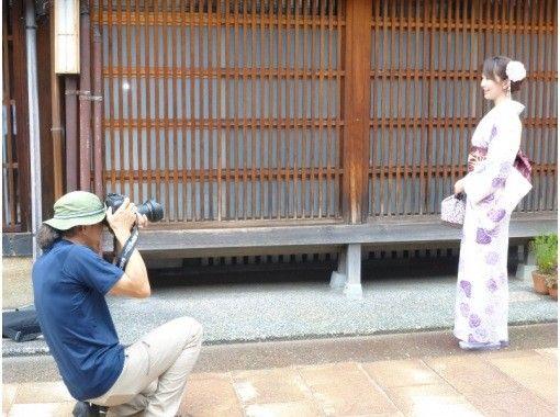 【石川・金沢】着物レンタル・当日返却&ひがし茶屋街でプロカメラマンによる写真撮影!の紹介画像