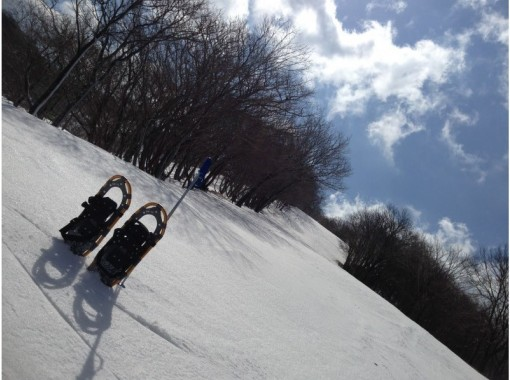 [Shiga / Takashima] Snowshoes and go see the spectacular scenery! A leisurely one-day snow mountain tour. With a nice light meal ♪の紹介画像