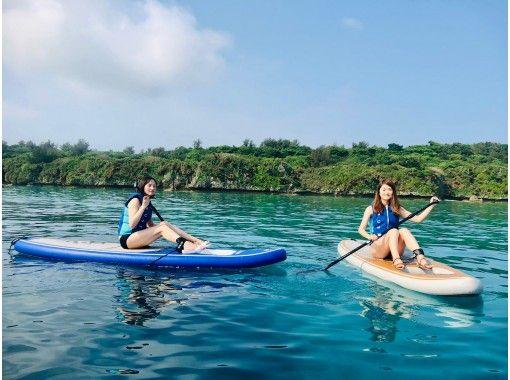 【沖縄・本部・瀬底島】SUP体験たっぷり60分コースの紹介画像