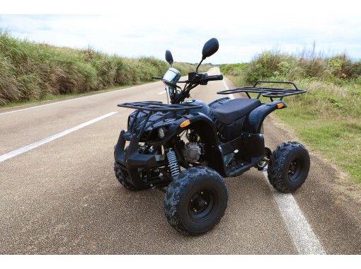 [冲绳 / 宫古岛] 与那霸前滨海滩附近的轻松 45 分钟越野车!由于它是在原路的场地上运行的,即使是无证的人也可以享受它! !!の紹介画像