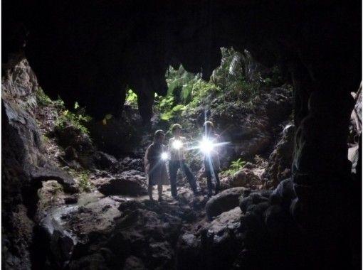 【沖縄・西表島】コロナ感染防止対策済、応援プライス!カヌー体験クーラの滝つぼ&ケイビング1日、写真データ付き