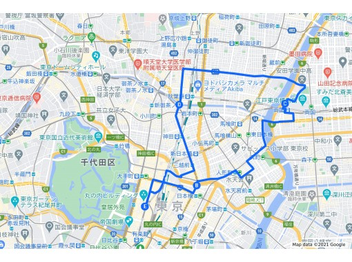 【東京サイクリングツアー】両国・秋葉原エリアを自転車で探検!ガイドの解説で歴史と文化も学べる!電動アシスト付自転車でらくらく♪