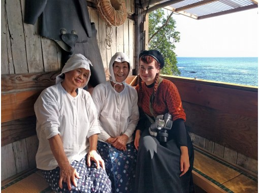 [Mie / Ise-Shima] One-day ama private tour / hiking, ama hut lunch, ama fishing tour, guide / transportation includedの紹介画像