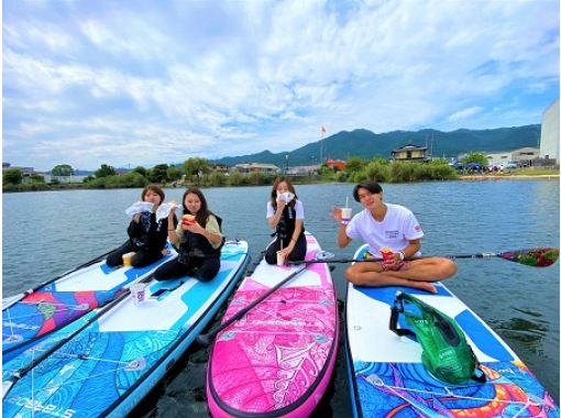 【滋賀県・下阪本】少人数制!琵琶湖でSUP☆マクドも食べれる!気軽に楽しく1時間30分☆