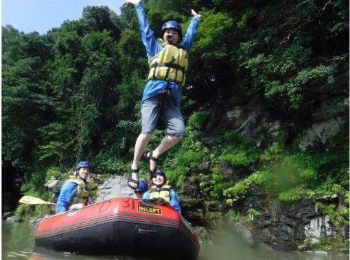 "[ Saitama , Nagatoro- Rafting ] elementary school 1 Year students participate in OK! ! ☆ Nagaoka Station 4 min. Walk ☆ Exhilarating tour at scenic spot ""Nagatoroko Valley""!の紹介画像"