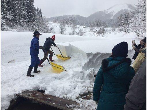 雪ノコ・スノーダンプ雪消し体験!