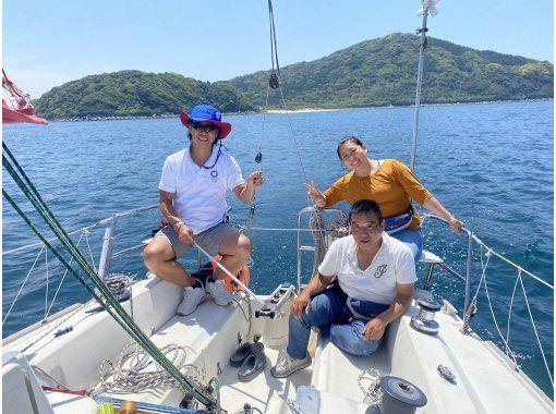 【福岡・福岡市・クルージング】転勤セーラー&ヨット未体験者応援します!未経験者には操船を教えます!経験者は自由に乗り回してください!