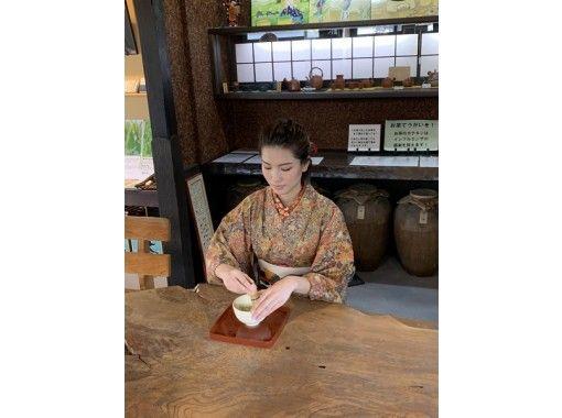【熊本・人吉】着物着付けと抹茶体験