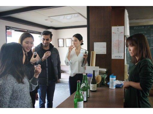 【兵庫・神戸】日本酒試飲ツアー!日本語(英語)ガイド付きの紹介画像
