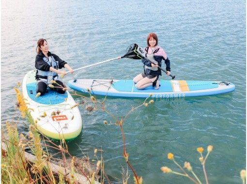 SMILE SUP! 徳島・松茂町旧吉野川、河口堰周辺サップ体験ツアー