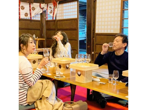 【Niigata・Furumachi】Private Sake tasting in the heart of a Shinto shrin