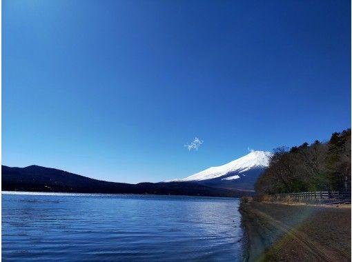 【山梨・富士五湖・山中湖】ワンちゃんOK!絶景の富士山展望クルーズ山中湖カヤック体験120分