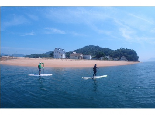 [Hiroshima ・ Onomichi] Recommended for beginners! Take a stand-up paddle at the Seto Inland Hyakunoshimaの紹介画像
