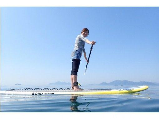 [広島·尾道]推薦給初學者!在Seto Inland Mochijima乘坐立式單槳の紹介画像