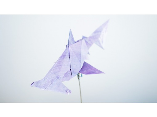 [Online experience] How to make creative origami by a lecturer certified by the Origami Societyの紹介画像