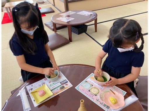 Seasonal Japanese sweets making & matcha experience cafe @ Asakusa-Feel free to enjoy Japanese culture! First-timers are welcome! Enjoy even on rainy days ★ Weekend limited cafe ★の紹介画像