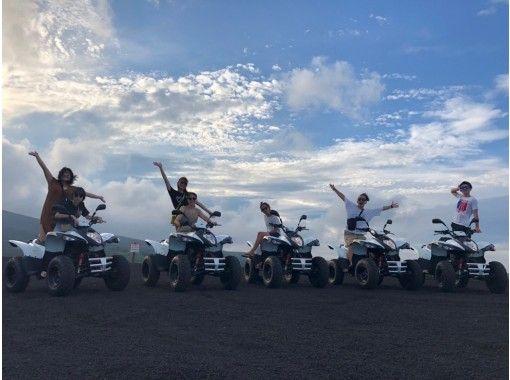 [ทางตะวันออก เกียวโต Izu Oshima] ★ประสบการณ์รถสี่ล้อ★สัมผัสประสบการณ์พิเศษบนท้องถนนมากมาย! คุณสามารถทำใบขับขี่ธรรมดาได้♪の紹介画像