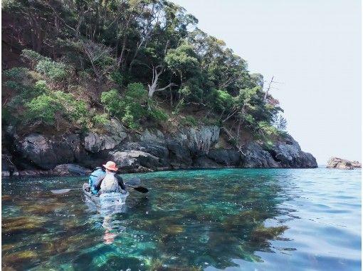 【クリアカヤック】透きとおる海の中をのぞこう!若狭湾コース [3時間]の紹介画像