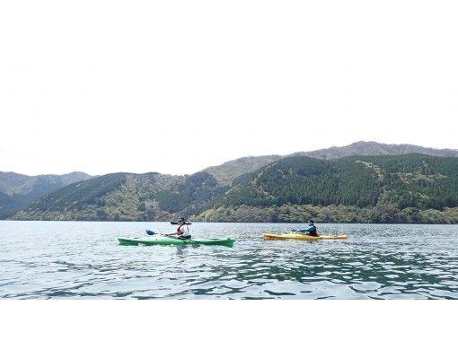 [Hakone / Lake Ashi] Beginners can enjoy nature with peace of mind! Hakone trip from the lake Kayak Half-day touringの紹介画像