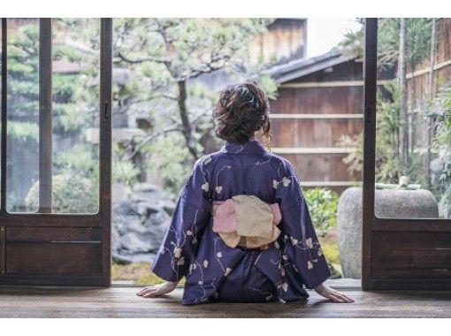 即時予約可【京都・東山】着物レンタル+ロケーション撮影体験プラン。女性におすすめ!着物返却19時まで。の紹介画像