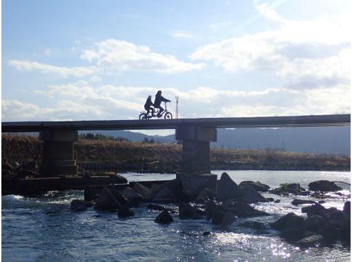 京都・亀岡 タンデム自転車サイクリング2時間コースの紹介画像