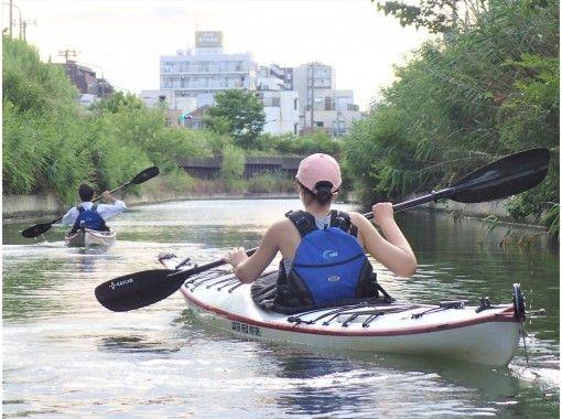 """[東京/江do川]讓我們以皮艇""""東京水道皮艇之旅(半天:A道)""""の紹介画像"""