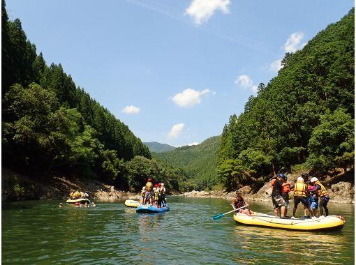 【京都・亀岡・保津川】ラフティング&タンデム自転車サイクリング 1日満喫!!