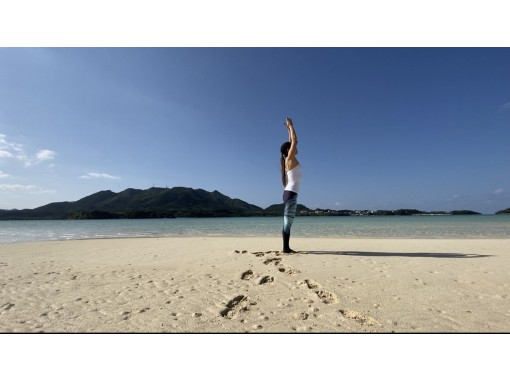 [冲绳/石垣岛]轻松的海滩瑜伽体验/在线瑜伽放大の紹介画像