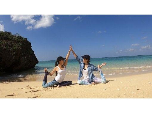 [冲绳/石垣岛]硬式沙滩瑜伽/在线放大瑜伽の紹介画像