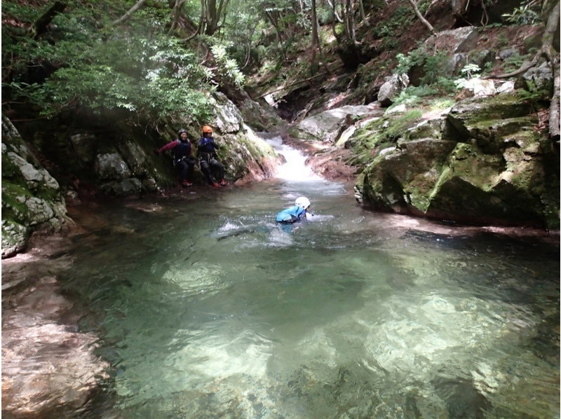 [For Kyoto experience] introduction image of shower climbing advanced course VOL-1 (white Takidani course)