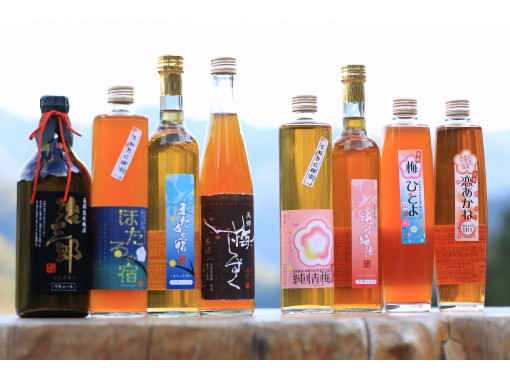 [Tokushima / Yoshino River] A healing time to enjoy plum wine made from home-grown plums with Mr. and Mrs. Sugi in the original scenery of Japan.の紹介画像
