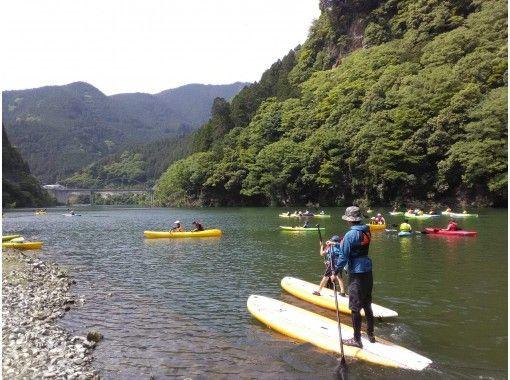 【奈良・吉野】初心者でも安心! レイクSUP(サップ) in おおたき龍神湖