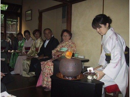 【京都・西陣】京町家で体験する特別なお茶席!町家見学しきたりのお話+茶道体験