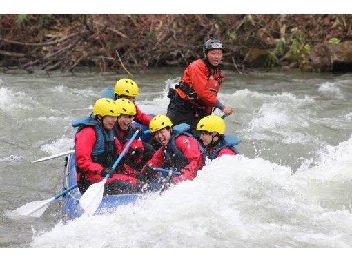 [Nisecola Rafting] Spring only ♪ Enjoy the thrilling torrent! !! 《Plan with hot spring ticket》の紹介画像