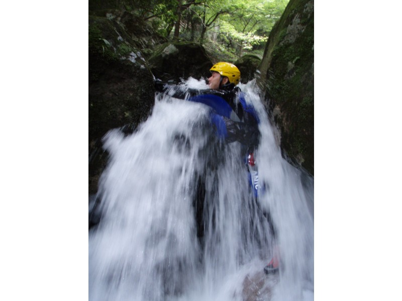 [For Kyoto experience] introduction image of shower climbing advanced course VOL-2 (mouth Roh Fukaya course)