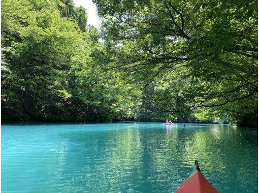 【群馬・吾妻】青い湖・四万湖で癒しの半日カヌーツアー!家族、友人、恋人と素敵な時間を♪