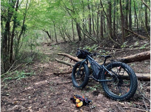 Would you like to experience the first time to cycle through the woods? An off-road cycling tour with a guide.の紹介画像