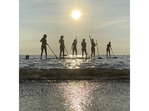 [Kanagawa / Hayama] Feel free to take a walk on the sea ♪ SUP 60 minutes ~ rental plan where you can choose the rental time and start time ♪の紹介画像