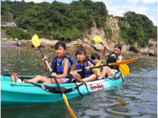 【千葉・勝浦】静かな海でシーカヤックを楽しもう!シーカヤック体験ツアー ♪