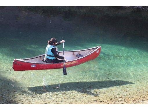 【高知・仁淀川・カヌー】奇跡の清流!仁淀ブルーに一番近いカナディアンカヌー宙船体験