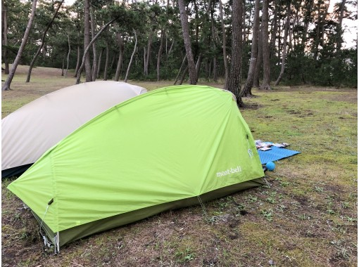 [Hyogo / Kaminabe Kogen] Empty-handed OK! Easy SOLO CAMP 1 night 2 days Tent, ingredients and lectures. All comics.の紹介画像