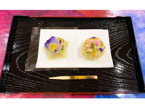 [Kyoto /Shimogyo Ward] Experience making Japanese sweetsの紹介画像